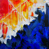 Tableau abstrait - In the Name Of -